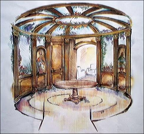 Progettazione arredamenti antichi librerie armadi in legno for Poli arredamenti